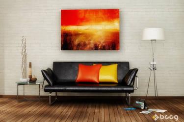 Seating scene - Yellow+Orange by saescavipica