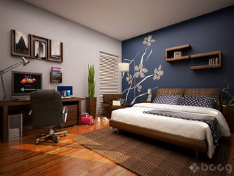 Home Sweet Home - Coco Bedroom by saescavipica