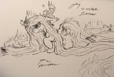 Day 19 scorched  by SummersStarsEpos643