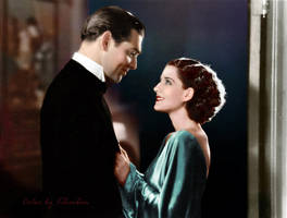 Clark Gable and Norma Shearer by klimbims