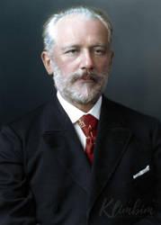 Pyotr Ilyich Tchaikovsky by klimbims