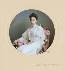 Portrait de Xenia Alexandrovna by klimbims