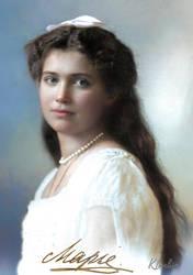 Grand Duchess Maria Nikolaevna Romanova by klimbims