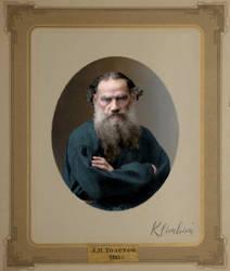 Leo Tolstoy 1885 by klimbims