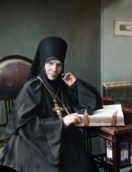 Prioress Nektaria, St Seraphim Convent by klimbims