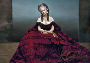 Virginia Oldoini, Countess of Castiglione by klimbims