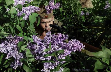 Sniper Nikolay Ilyin, 494 kills by klimbims