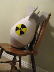 Plush atomic bomb by feathergills