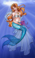 Queen Athena of Atlantica by RyouGirl