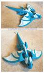 Dragon Plushie by RyouGirl