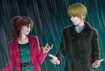 Caught in the Rain by RyouGirl