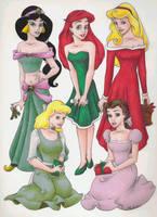Princess Christmas by RyouGirl