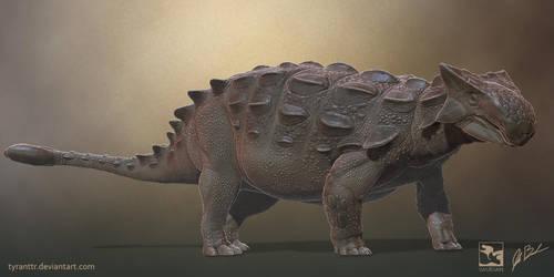 Ankylosaurus - Saurian by LittleBaardo