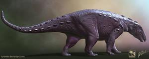 Denversaurus - Saurian by LittleBaardo