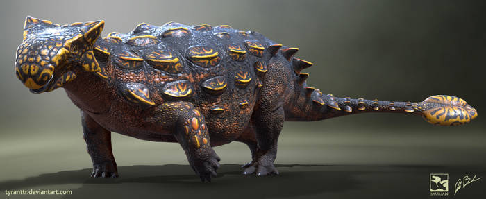 Ankylosaurus magniventris - Saurian by LittleBaardo