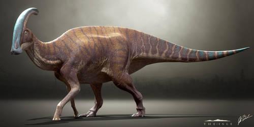 Parasaurolophus walkeri - The Isle by LittleBaardo