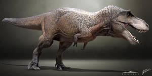 Tyrannosaurus Rex - The Isle by LittleBaardo