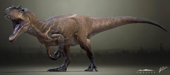 Allosaurus fragilis - The Isle by LittleBaardo
