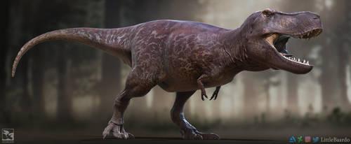 Tyrannosaurus Rex - Saurian by LittleBaardo