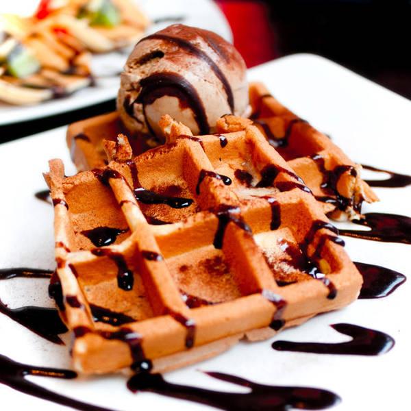 Tiramisu Waffle by adrielchrist