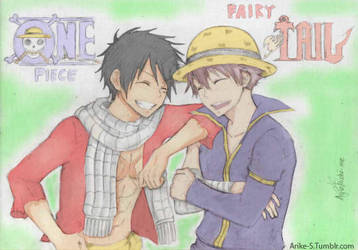 One Piece x Fairy Tail by Arike-S