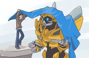 Sam and Bumblebee by yo-3