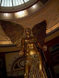 Statue of Lucifer by SchizoTigress
