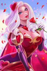 Heartseeker Ashe (Happy Valentine's Day!) by OlchaS
