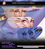 Nose Painting Tutorial preview by OlchaS