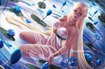 Princess Zelda   :NSFW optional: by OlchaS