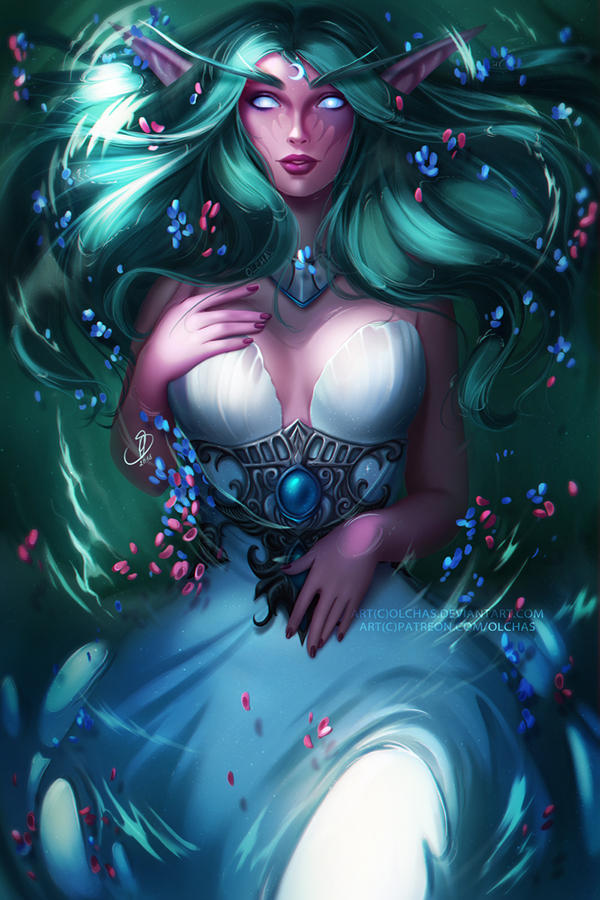 Tyrande by OlchaS