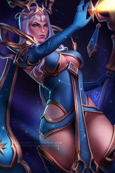 Celestial Empress Whitemane by OlchaS