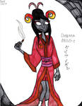 Damara in A Yukata by Millie-the-Cat7