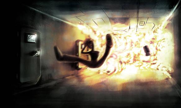 Speedpainting :  Boom by Yughues