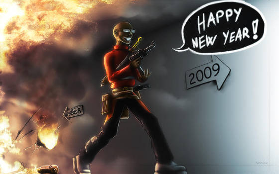 Happy New Year by Yughues