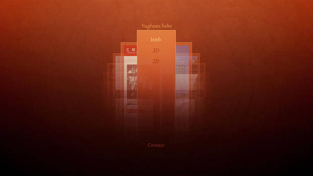 Portfolio refined design by Yughues