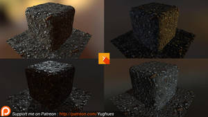 [Patreon] Photogrammetry texture attempt by Yughues