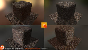 [Patreon] Photogrammetry texture 2 by Yughues