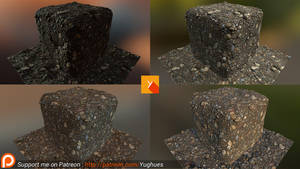 [Patreon] Photogrammetry texture 5 by Yughues