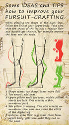 How to improve your fursuit-crafting - Legs by FurForge