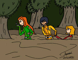 Determination In The Swamp Colored by Dr-Scaphandre