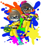 Neo Diver Duo - Ink Divers by Dr-Scaphandre
