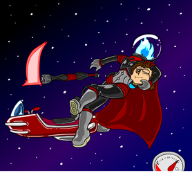 Scaphandre the Space Dullahan! (1/6) by Dr-Scaphandre