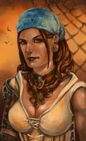 Dragon Age II: Isabela by LeKsoTiger