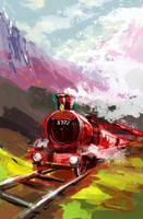 Hogwarts Express by LeKsoTiger