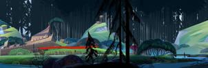 Art test for Banner saga by LeKsoTiger