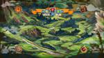 Fantasy map by LeKsoTiger
