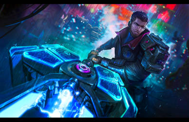 Blade Runner Jayce by LeKsoTiger