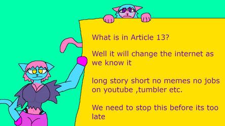 Article 13 by catamonga