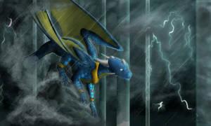 Thunderstorm by Skaizek